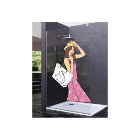 Panel fijo Ducha 1950 mm. decorado digital