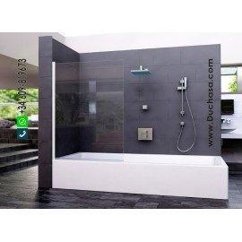 Panel fijo bañera