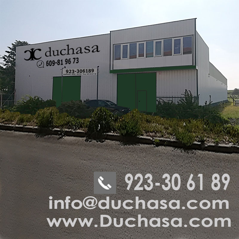 Fachada nave Mamparas Duchasa