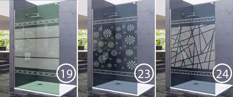 Serigrafías modelos 19, 23 y 24