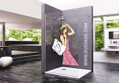Panel fijo decorado digital